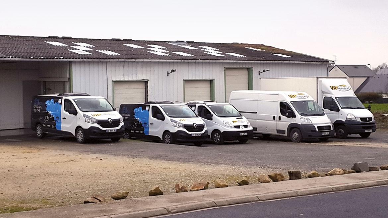 L'agence de Lorient Vit Transport