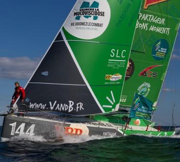 Vit' Transport partenaire du bateau V&B Sailing Team